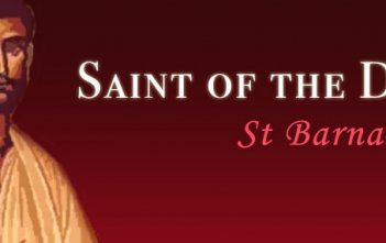 Saint of the Day - St Barnabas
