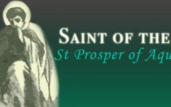 St Prospero of Aquitaine