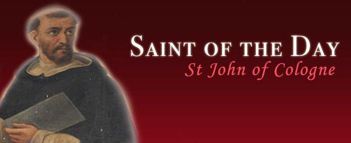 St John of Cologne