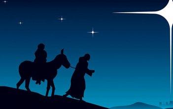 Mary Joseph Bethlehem Star