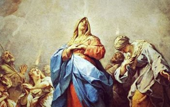 Pentecost Our Lady Holy Spirit