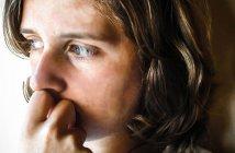 woman anxious
