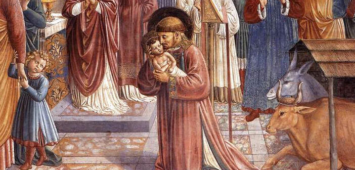 St Francis and the Crib