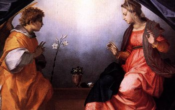 Annunciation Mary Angel Gabriel 1