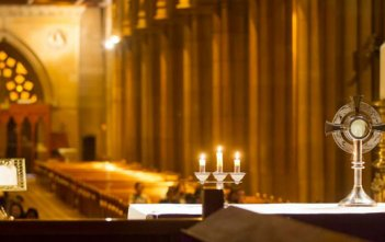 Cathedral Eucharist adoration