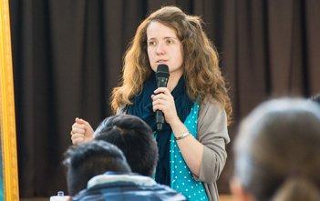Jess Leach Immaculata Mission School 2015
