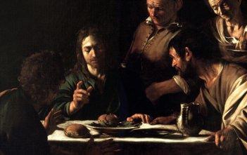 Caravaggio Emmaus (Milan)