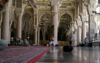 Muslims Praying and Studying