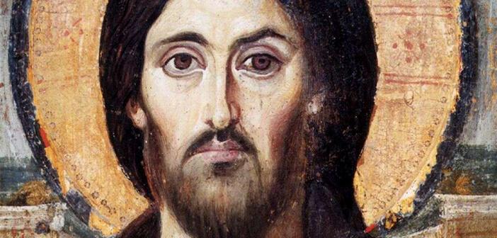 Christ Pantocrator from St Catherine's Monastery Sinai
