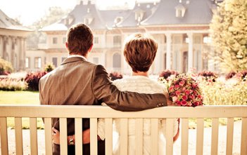 Married Couple Bench