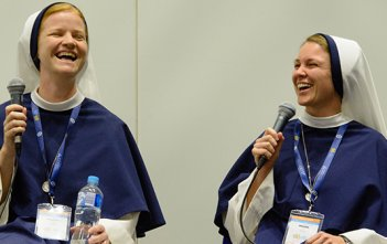 Sisters of Life Australian Catholic Youth Festival Conversation
