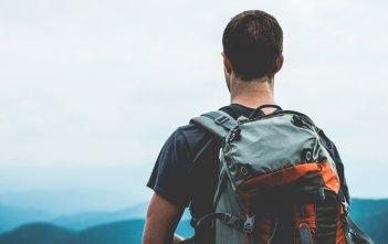 Hiker Viewing Range