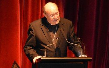 Archbishop Julian Porteous at the 2016 Tasmanian Catholic Education Conference