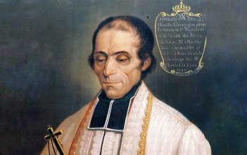 St Macellin Champagnat by Ravery