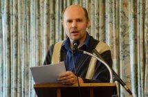 Dr Brendan Triffett at the Dawson Colloquium 2016