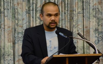 Dr Matthew Tan at the Dawson Colloquium 2016