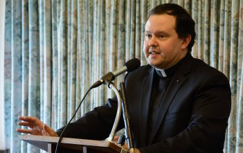 Fr Mark Podesta at the Dawson Colloquium 2016