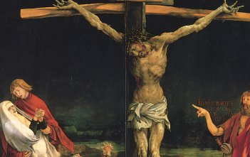 Crucifixion from the Isenheim Altarpiece, by Matthias Grünewald