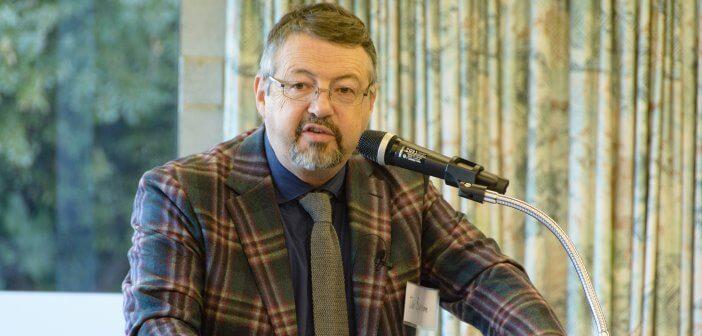 Dr Iain Benson at the Dawson Colloquium 2017
