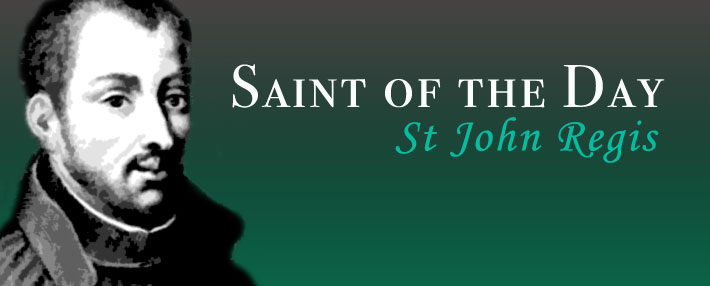 Saint of the Day - John Regis
