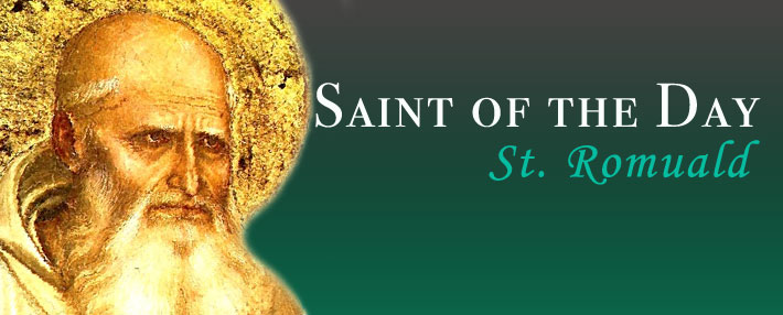 Saint of the Day - St Ramuald