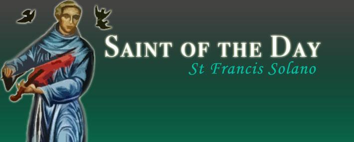 St Francis Solano