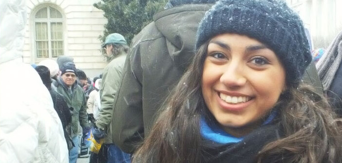 Madeleine Vella at the March for Life