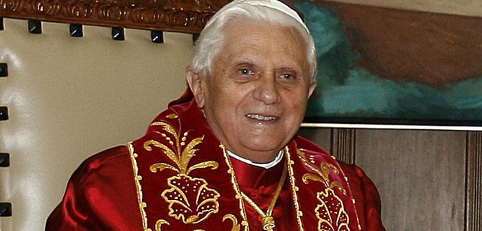 Pope Emeritus Benedict 3