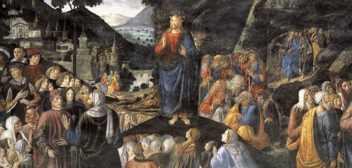 Sermon on the Mount Cosimo Roselli