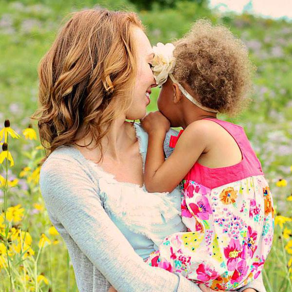 Lauren and her baby girl