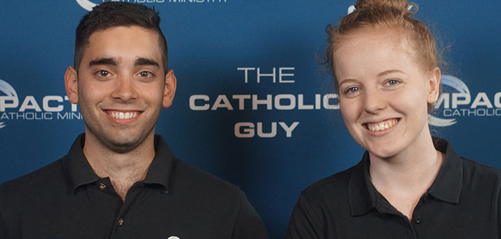 Julian and Natalie from the Catholic Guy
