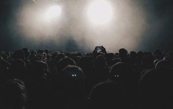 Concert Celebrity Crowd