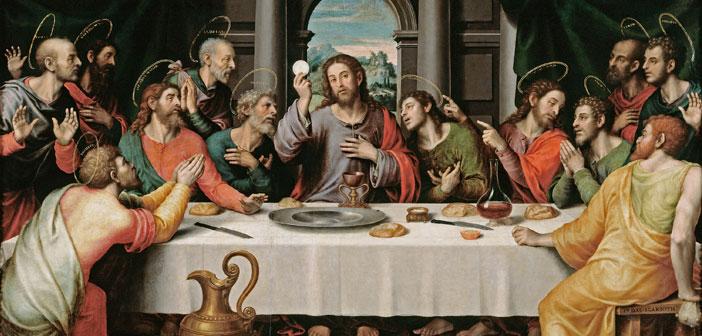 last supper eucharist holy communion