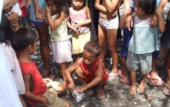 serving Christ in poor Philippines poor