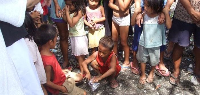 serving Christ in poor Philippines poor