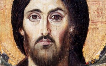 Christ Pantocrator from St Catherine's Monastery Sinai