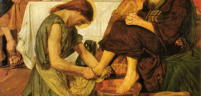 Washing of the Feet by Ford Madox Brown