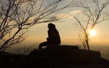 Sitting at Sunrise