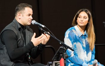 Gary & Natasha Pinto at Australian Catholic Youth Festival 2015