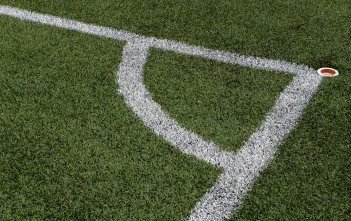 Soccer Football Field Corner