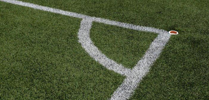 Soccer Football Field Corner