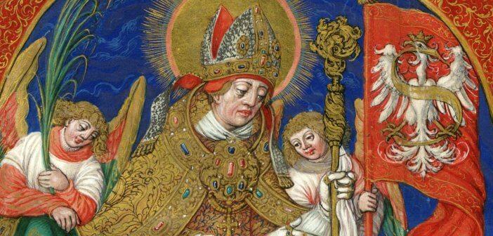 St Stanislaus by Satnisław Samostrzelnik