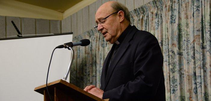 Archbishop Julian Porteous at the Dawson Colloquium 2016