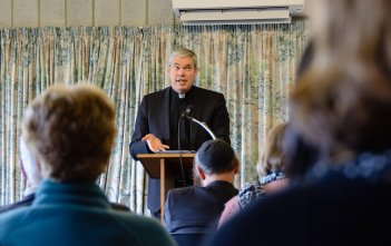 Fr Richard Umbers at the Dawson Colloquium 2016