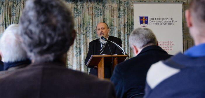 Rabbi Shimon Cowen at the Dawson Colloquium 2016
