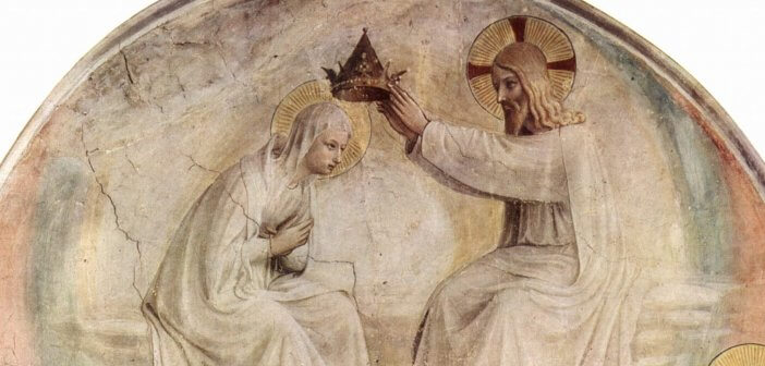 Coronation of the Virgin by Blessed Fra Angelico