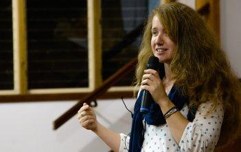 Jess Leach at the Mercy Retreat in Mullumbimby