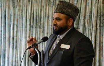 Usman Rana at the Dawson Colloquium 2016