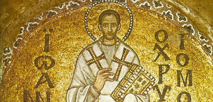 St John Chrysostom at the Cathedral of Hagia Sophia