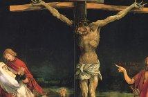 Crucifixion from the Isenheim Altarpiece, by Matthias Grünewald